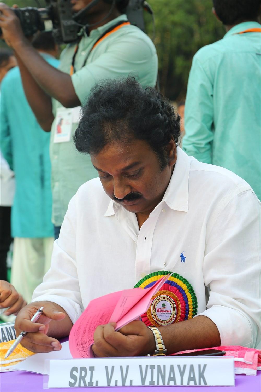 VV Vinayak  @ Sree Vidyanikethan Silver Jubilee Celebrations Stills