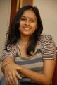 Actress Sri Divya Photos at Bus Stop Pre-Release Press Meet