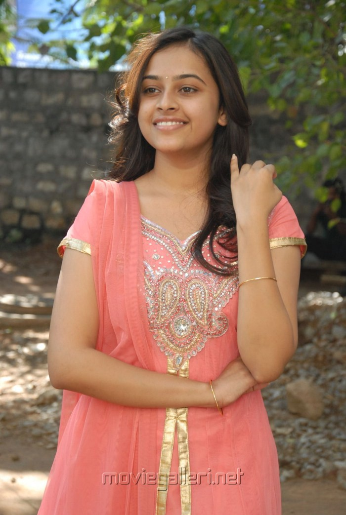 Actress Sri Divya Latest Cute Stills at Bus Stop Trailer Launch