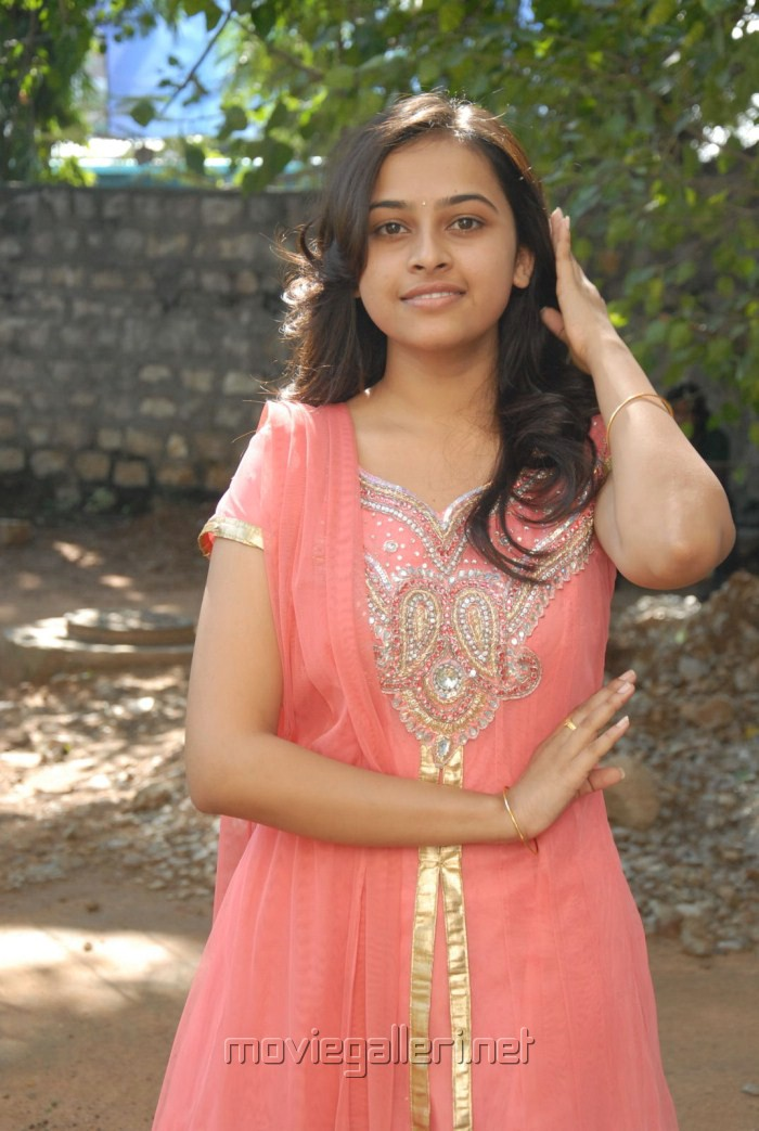 Telugu Actress Sree Divya Latest Cute Stills in Churidar