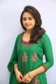 Actress Sri Divya in Green Churidar Images