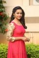 Tamil Actress Sri Divya in Red Dress Photos