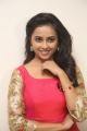 Tamil Actress Sri Divya in Red Long Dress Photos