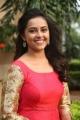 Tamil Actress Sri Divya Red Long Dress Photos