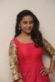 Actress Sri Divya in Dark Pink Long Dress Photos