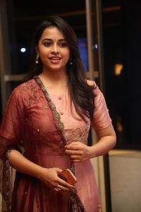 Actress Sree Divya Pictures @ Abhimanyudu Premiere Show