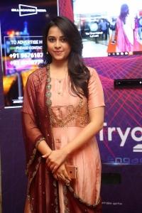 Actress Sri Divya Pictures @ Abhimanyudu Premiere Show