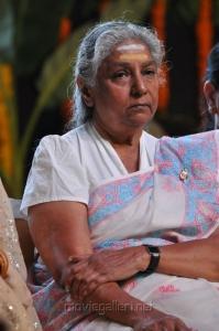Singer S.Janaki at Sri Jagadguru Adi Shankara Movie Audio Release Photos