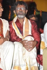 Director JK Bharavi at Sri Jagadguru Adi Shankara Movie Audio Release Photos