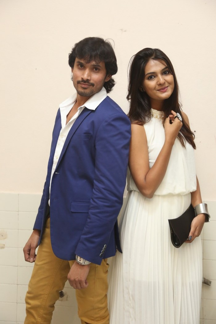 Sri Nilayam Movie Trailer Launch Stills
