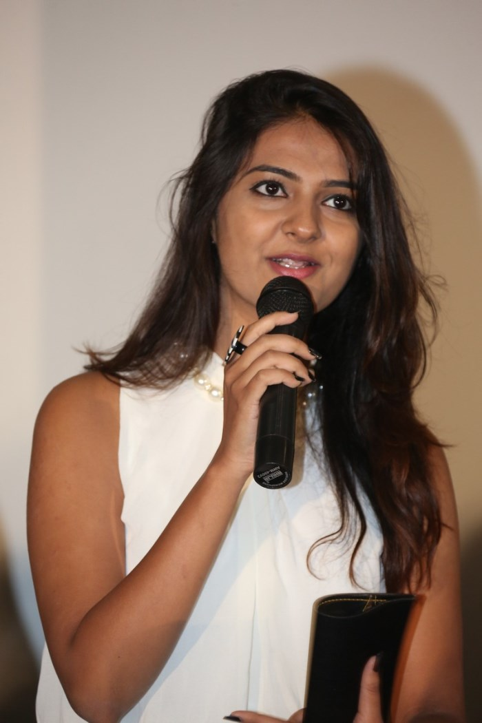 Actress Neha Deshpande @ Sri Nilayam Movie Trailer Launch Stills