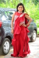 Actress Sri Pallavi Red Saree Photos @ Amma Deevena First Look Launch
