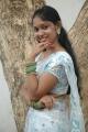 Tamil Actress Sri Priyanga White Saree Hot Photos
