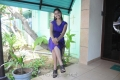 Tamil Actress Sri Priyanka Hot Stills in Blue Dress