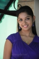 Agadam Movie Heroine Sri Priyanka Hot Stills in Blue Dress