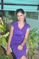 Tamil Actress Sri Priyanka in Blue Dress Hot Stills