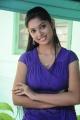 Tamil Heroine Sri Priyanka Hot Stills in Blue Dress