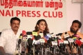 Actress Sri Reddy Press Meet at Chennai Press Club