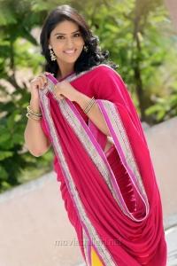 Actress Sri Sudha in Saree Photoshoot Stills