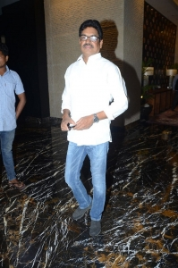 Shivaji Raja @ Sridevi Condolence Meet Hyderabad Photos
