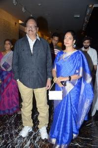 Krishnam Raju, Shyamala Devi @ Sridevi Condolence Meet Hyderabad Photos