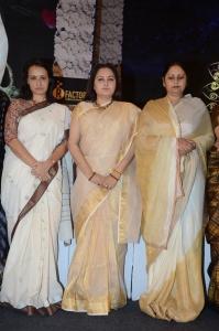 Amala, Jayaprada, Jayasudha @ Sridevi Condolence Meet Hyderabad Photos