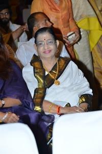 Singer P Susheela @ Sridevi Condolence Meet Hyderabad Photos
