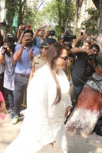 Jayaprada @ Sridevi Death Celebs visit Anil Kapoor House Stills