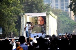 Actress Sridevi Final Journey Photos