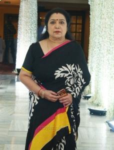 Actress Latha @ Sridevi Prayer Meeting Stills