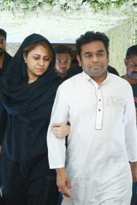 Saira Banu, AR Rahman @ Sridevi Prayer Meeting Stills