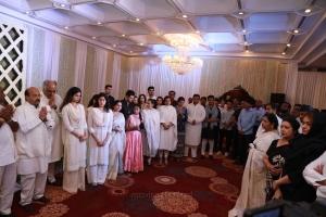 Boney Kapoor, Jhanvi Kapoor @ Sridevi Condolence Meet Chennai Stills