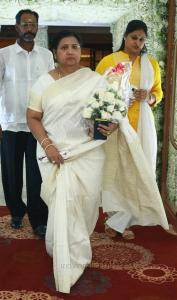 Kutty Padmini @ Sridevi Prayer Meeting Stills