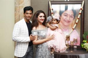 Rahul Sridevi Vijaykumar Daughter Rupikaa 1st Year Birthday Celebration Photos