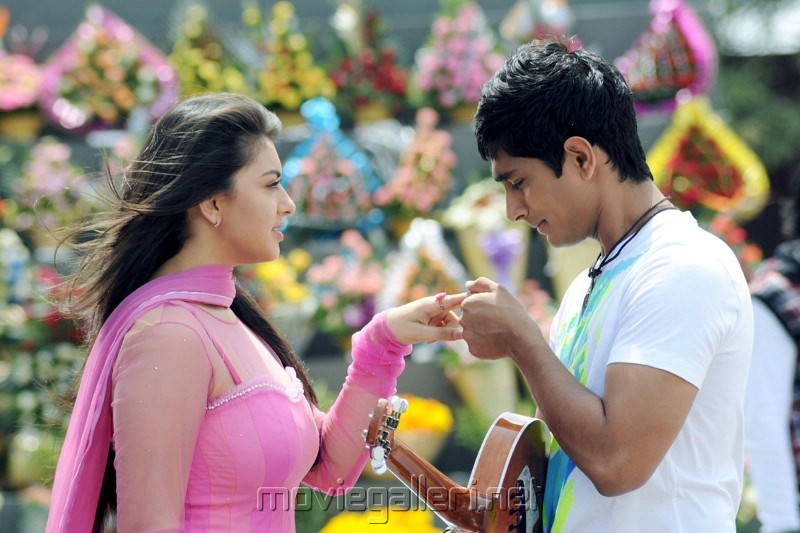 Siddharth, Hanshika Motwani in Sridhar Tamil Movie Stills