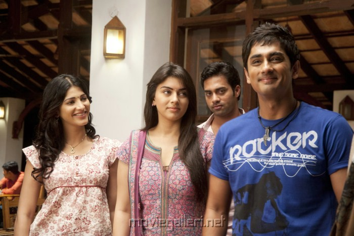 Siddharth, Shruti, Hanshika in Sridhar Tamil Movie Stills