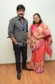 Actor Srikanth with wife Ooha @ Nirmala Convent Press Meet Photos