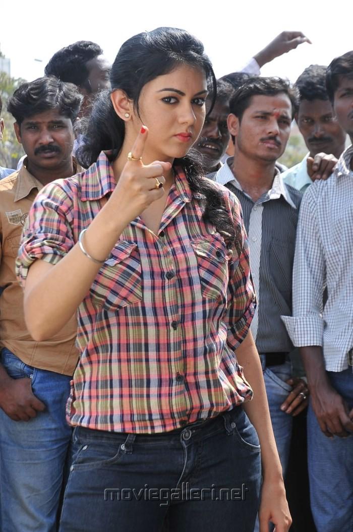 Actress Kamna Jethmalani in Pushyami Film Makers Production No. 1 Movie Stills.