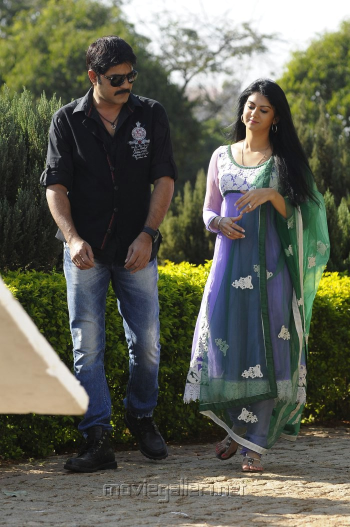 Srikanth & Kamna Jethmalani in Pushyami Film Makers Movie Stills