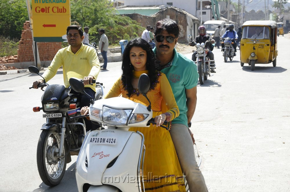 Kamna Jethmalani, Srikanth in Pushyami Film Makers Pro No.1 Movie Stills