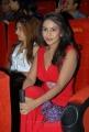 Telugu Actress Srilekha in Hot Red Dress at Aravind 2 Audio Release