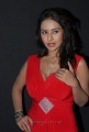 Telugu Actress Srilekha in Hot Red Dress at Aravind 2 Audio Release