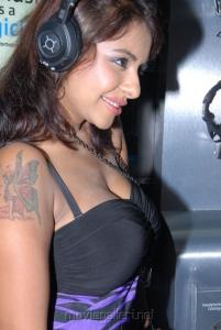 Telugu Actress Srilekha Hot Stills at Supreme Music Store Launch