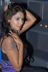 Srilekha Reddy Hot Stills at Supreme Music Store Launch