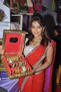 Telugu Actress Srilekha inaugurates Parinaya Wedding Fair 2013 Photos