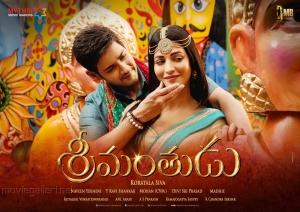 Mahesh Babu, Shruti Hassan in Srimanthudu Movie Release Wallpapers