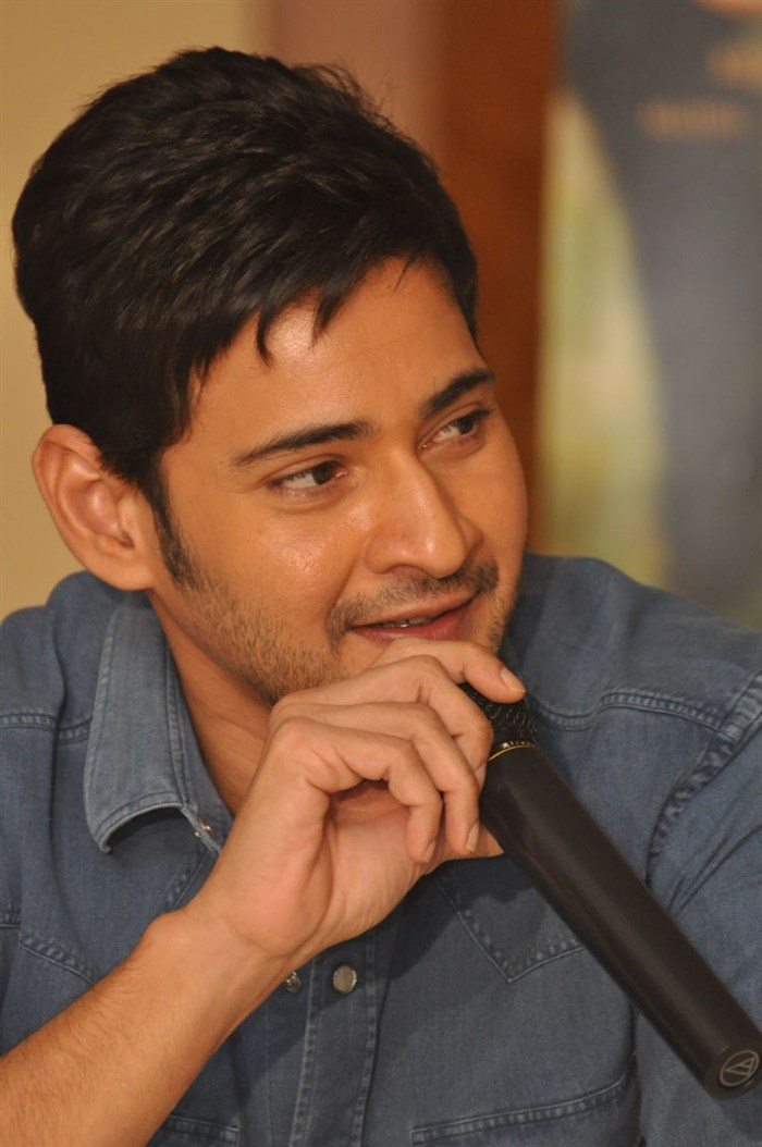 Mahesh Babu @ Srimanthudu Movie Success Meet Stills