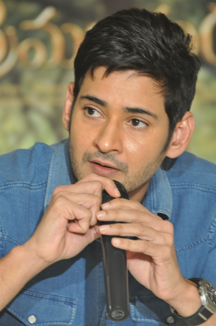 Actor Mahesh Babu @ Srimanthudu Movie Success Meet Stills