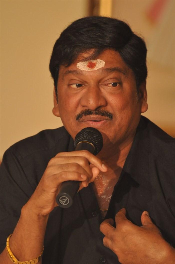 Rajendra Prasad @ Srimanthudu Movie Success Meet Stills