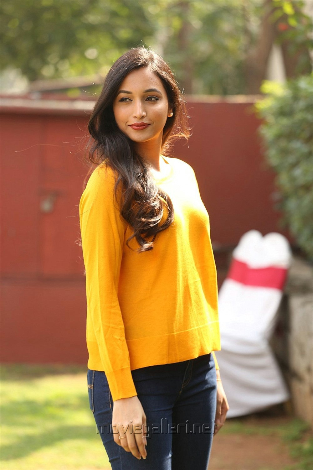 Actress Srinidhi Shetty Pictures @ KGF Movie Success Meet
